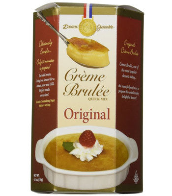 Creme Brulee Quick Mixx