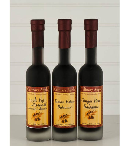 Infused Dark Balsamic Vinegar at Culinary Apple