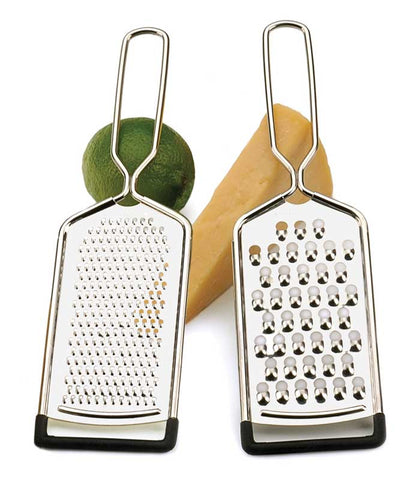 Set of 2 Stainless Steel Graters