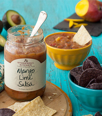 Mango Lime Salsa at Culinary Apple