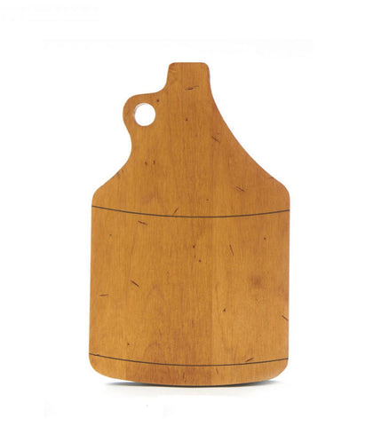 Growler Shaped Cutting Board