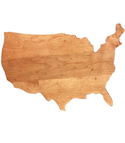 USA Shaped Cutting Board at Culinary Apple