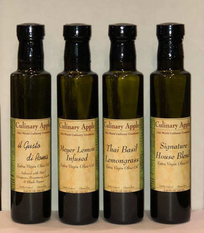 Infused Olive Oils at Culinary Apple