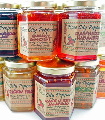 Rose City Pepperheads Jelly