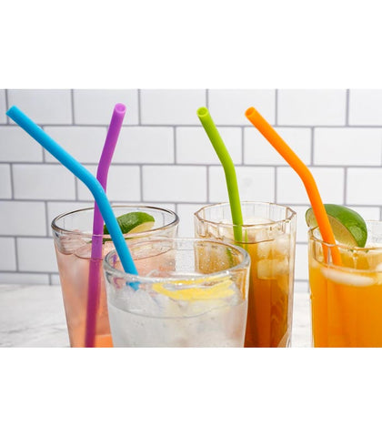 Use Silicone Straws to Reduce Waste