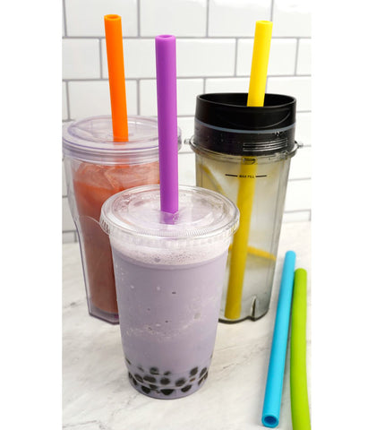 Silicone Straws for Smoothies