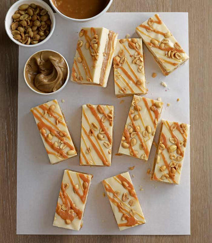 Caramel Peanut Homemade Fudge