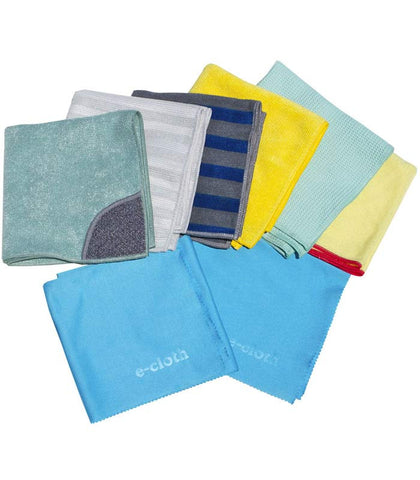 E-cloth Starter Set of Microfiber cleaning cloths
