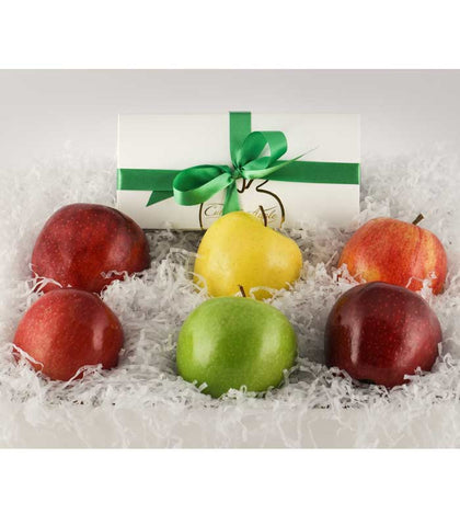 Washington Apple Gift Basket Variety with Fudge