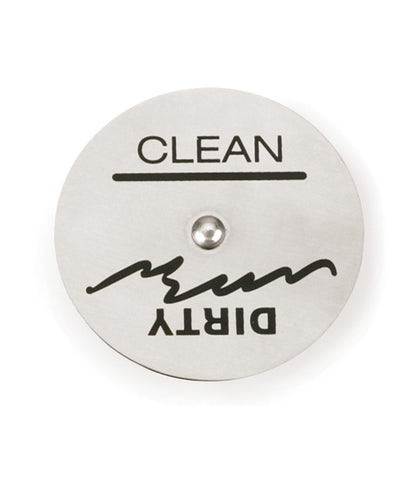 Clean/Dirty Magnet for the Dishwasher