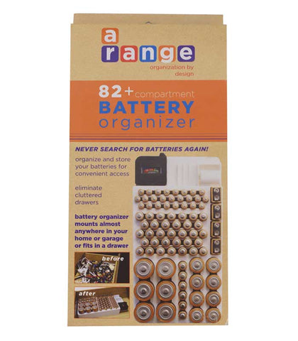 Battery Organizer by Range Kleen