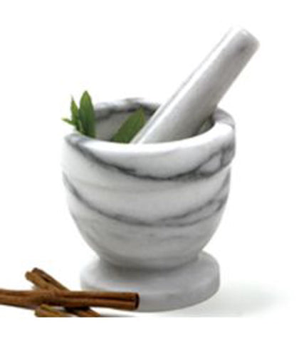 Marble Mortar and Pestle at Culinary Apple