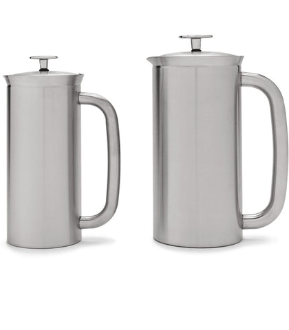 French Press - Brushed Stainless