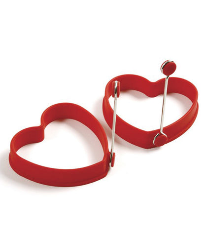 Norpro Silicone Heart Shaped Egg Rings at Culinary Apple
