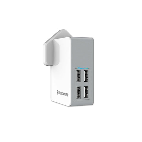 4 Ports USB Wall Charger - Simply Cables  - 1