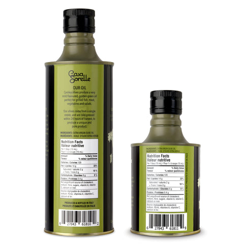 Extra Virgin Olive Oil Travel Pack ~ 2 bottles