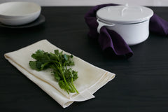 Beautiful tea towels made in the U.S.A. of sustainable materials.