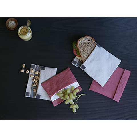 Reusable Sandwich and Snack Bags
