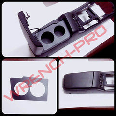 Nissan 240sx S13 Center Console Custom Metal Plate Cup Holder LHD or RHD