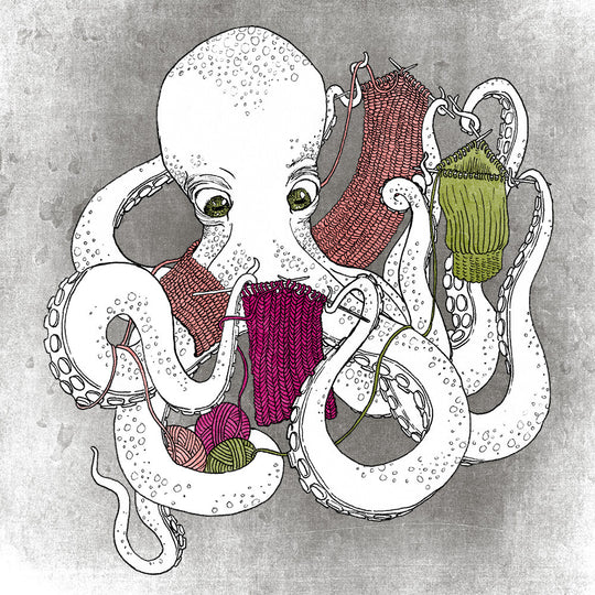 I Wish I Was an Octopus: Chunky Knits