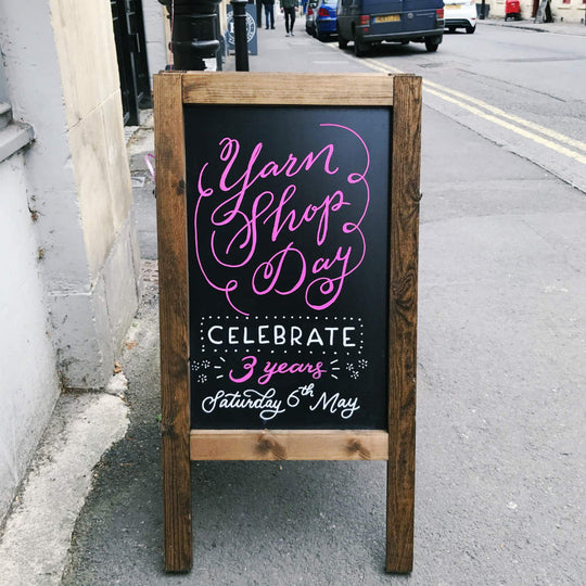 Yarn Shop Day / Anniversary Wrap Up