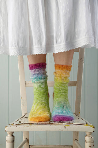 Greenwich Village socks by Rosee Woodland