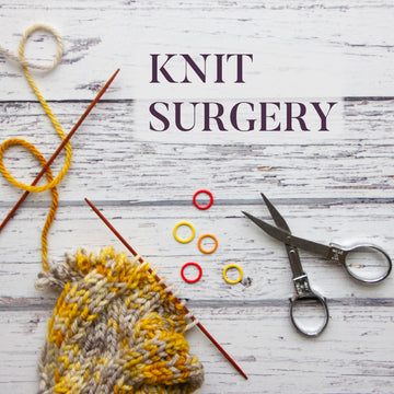 Weekly Knit Surgery