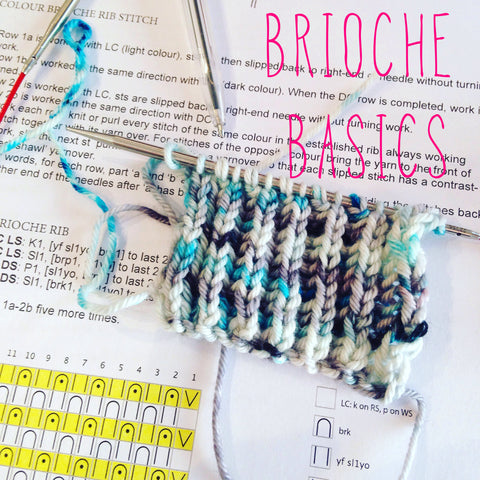 Brioche Stitch Basics