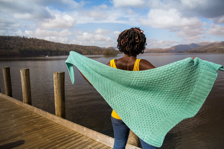 Glykos Shawl Kit