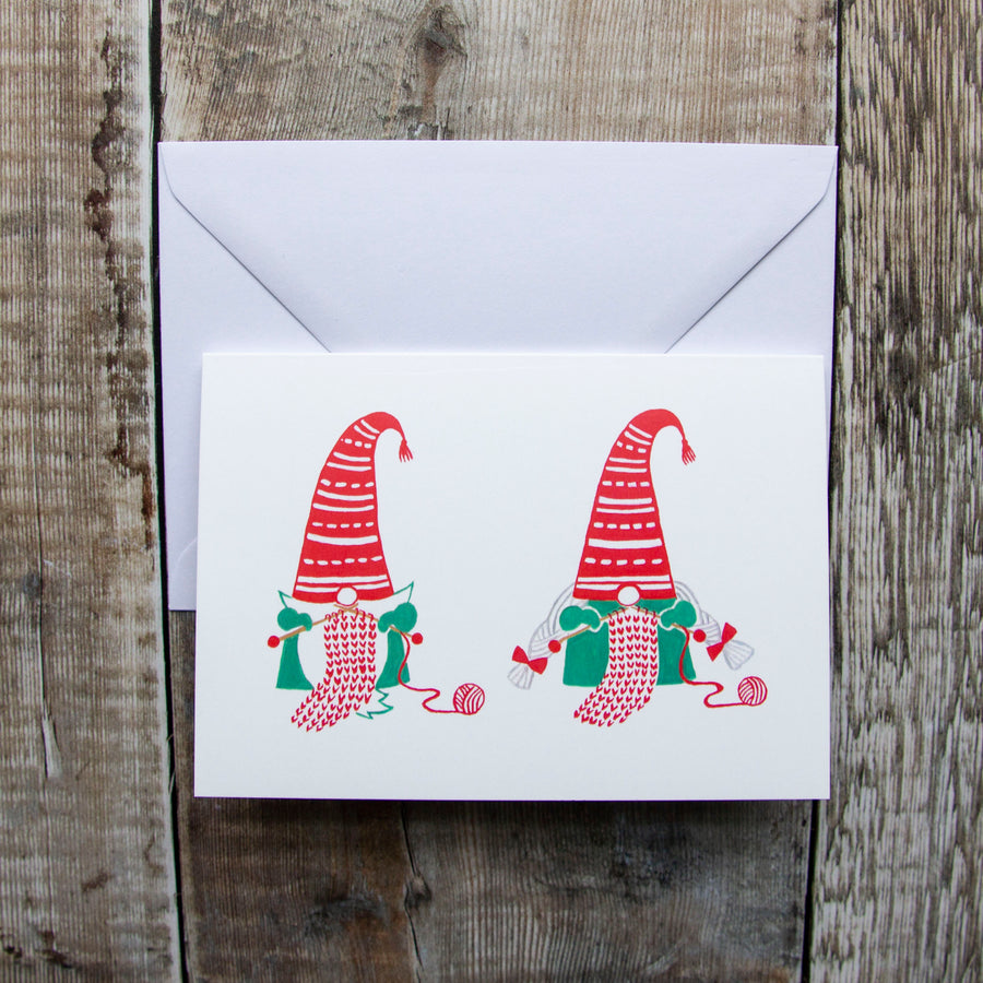 Gnorman & Gnorma Greeting Card