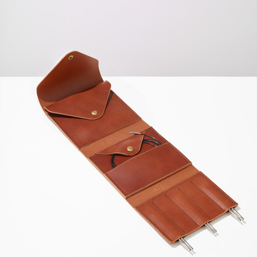 Leather Needle Case
