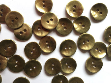 Brass Button - 12mm - TGB1167