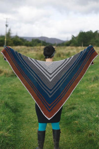 Puddle Dive Shawl