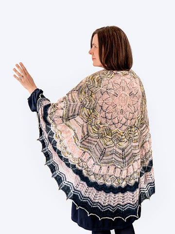 Curious Handmade Inkling Shawl Kit