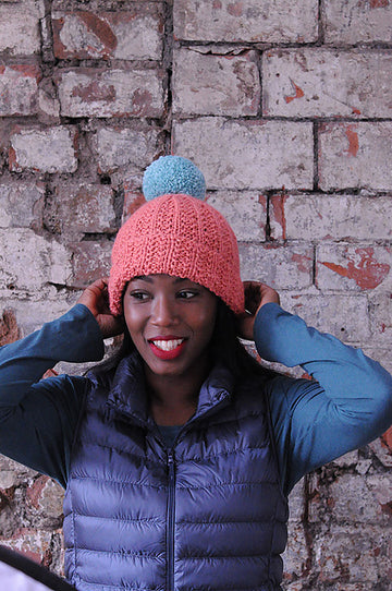 Chunky Mistake Rib Hat Kit