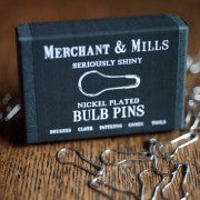 Merchant & Mills Nickel Plated Bulb Pins