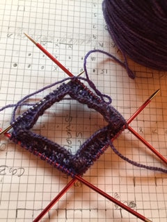 Patterning A Sock