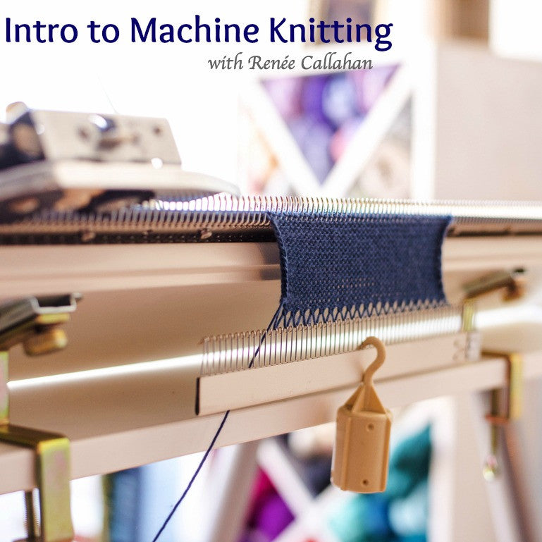 Introduction to Machine Knitting