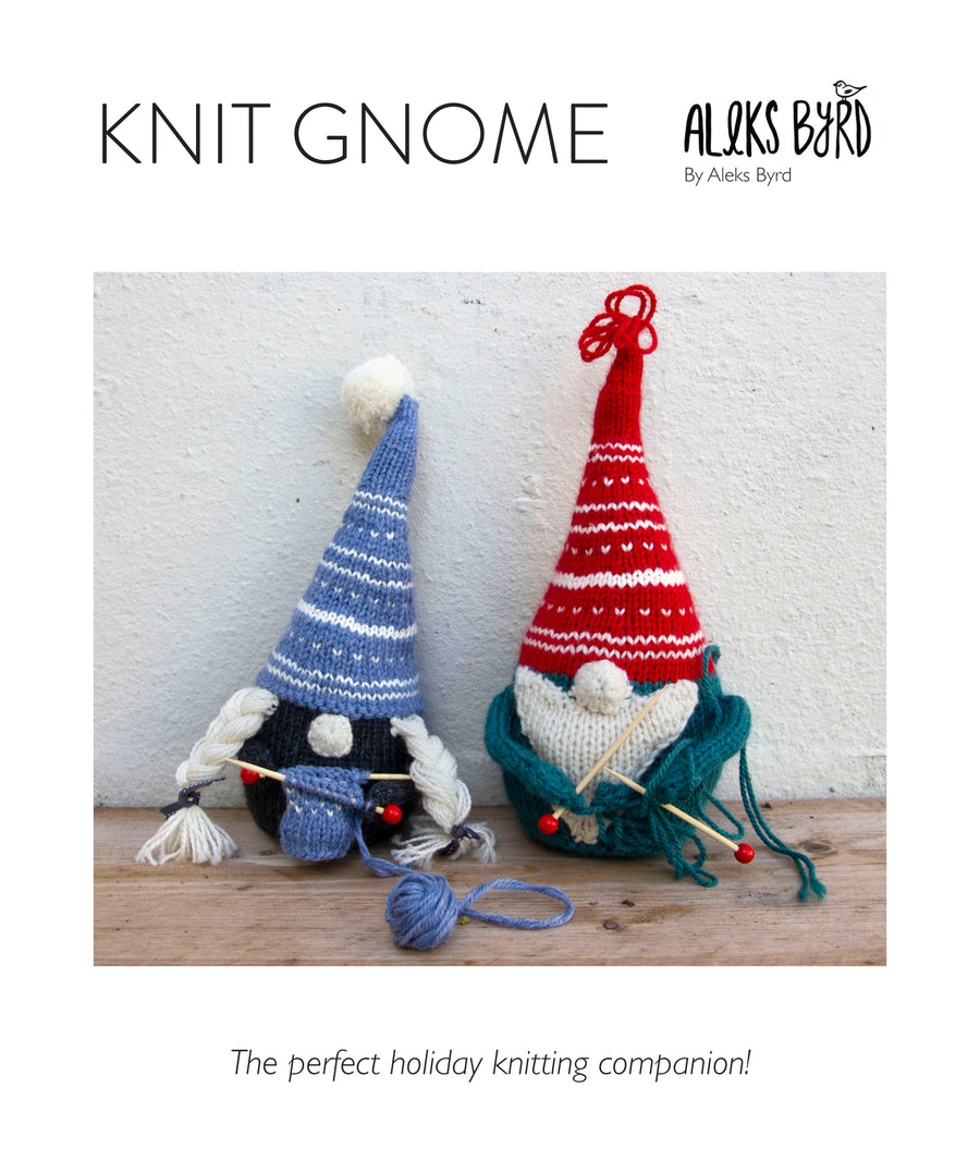 Knit Gnome Pattern