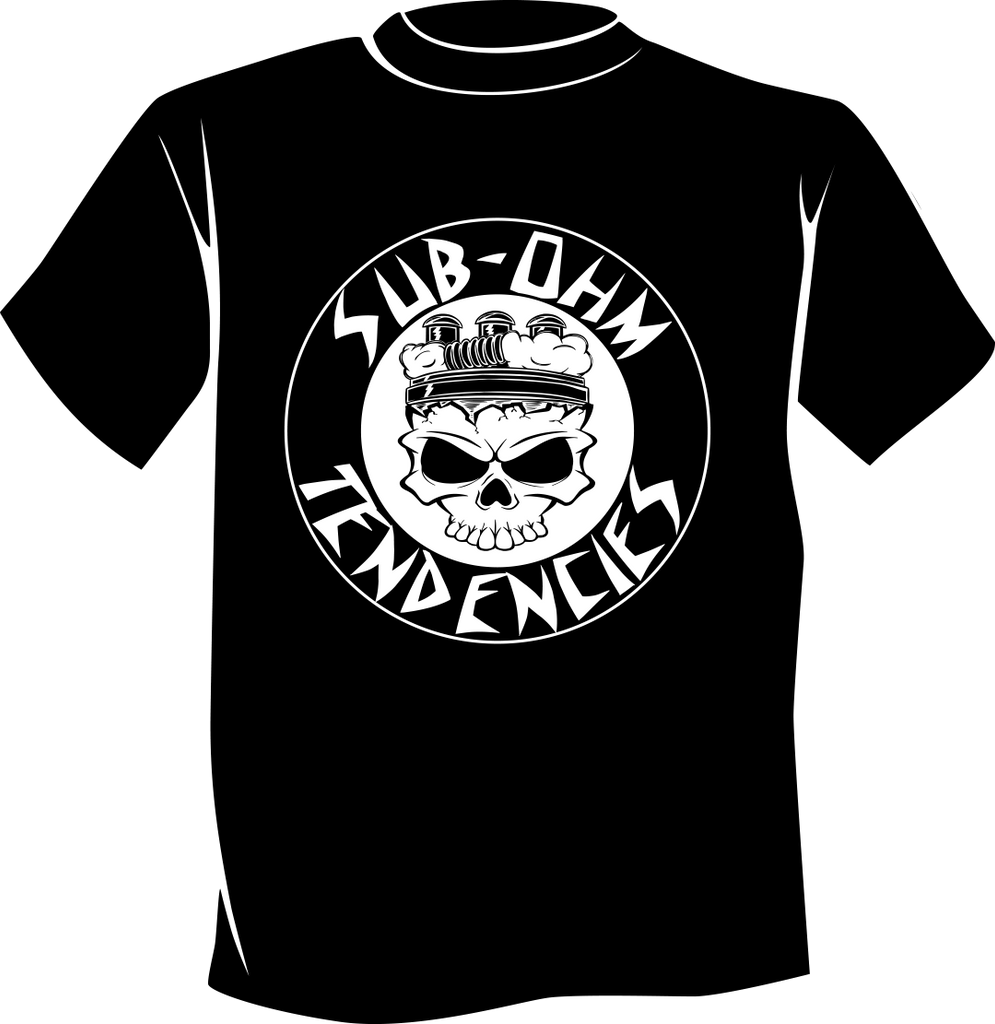 Sub-Ohm Tendencies T-shirt (Black)