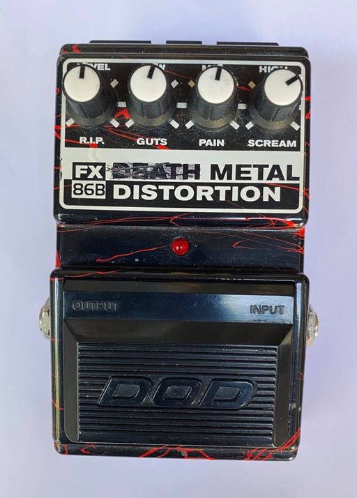 Pedal de Distorsión DOD Death Metal Distortion FX86B (USADO)