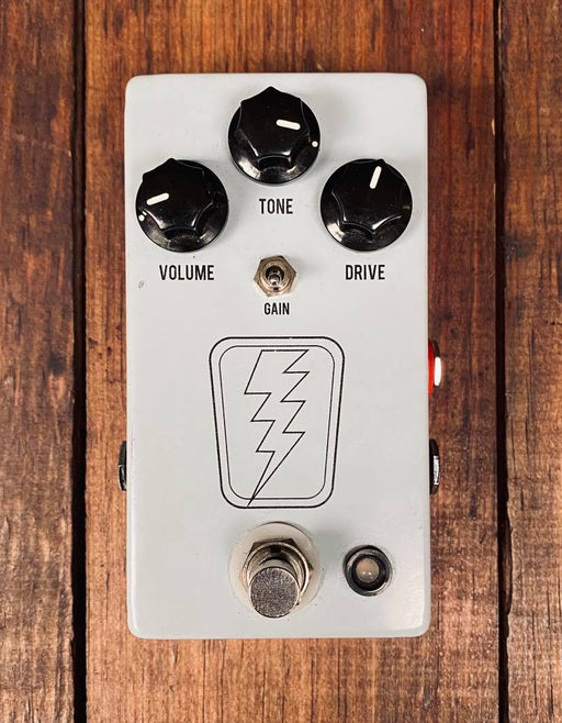JHS SuperBolt V2 Overdrive Pedal y Red Remote Switch (USADO)