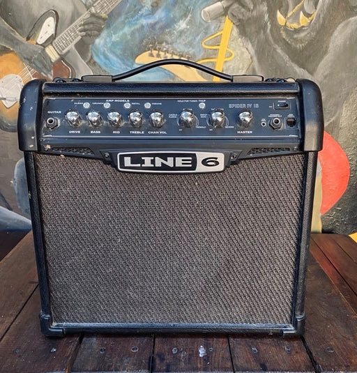 Line 6 SPIDER III 15 Watt Combo Guitar Amplifier (USADO)