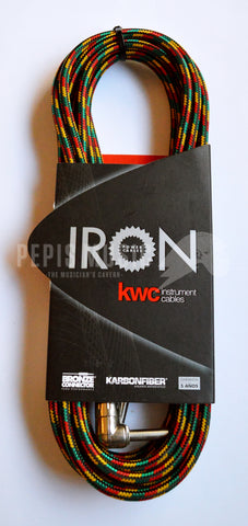 KWC instrument cables Iron Power Rasta - 6 mts
