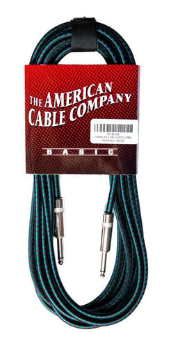 Cables de Instrumento American Cable Basic 6mts