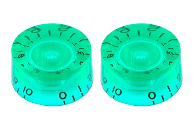 PK-0130-029 Set of 2 Green Speed Knobs