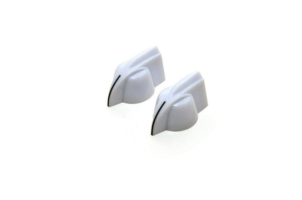 White Pointer Knobs