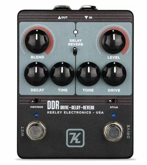 Keeley DDR Drive - Delay - Reverb Pedal