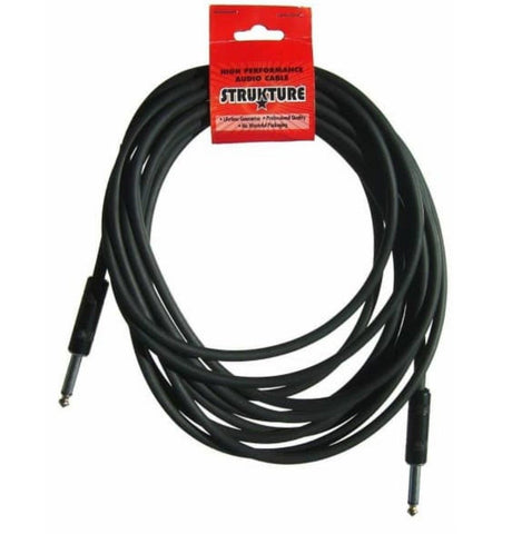 Strukture SC186R 18.6-Feet Instrument Cable BLACK