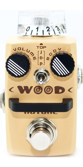 PEDAL HOTONE SAC-1 WOOD- PEPIS MUSIC